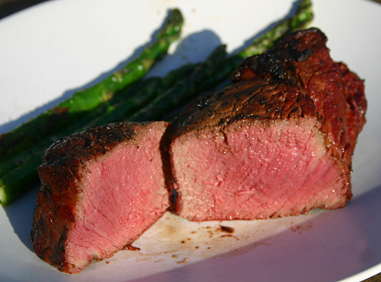 Medium Rare Filet Mignon