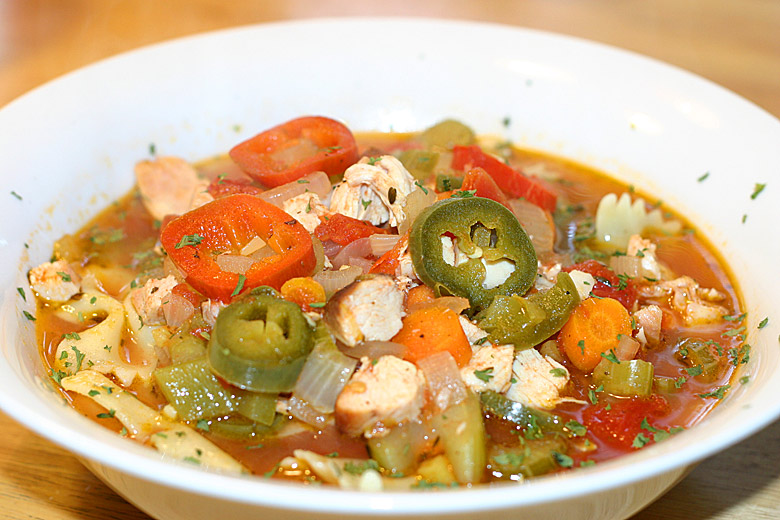 Smoked Chicken Jalapeno Soup