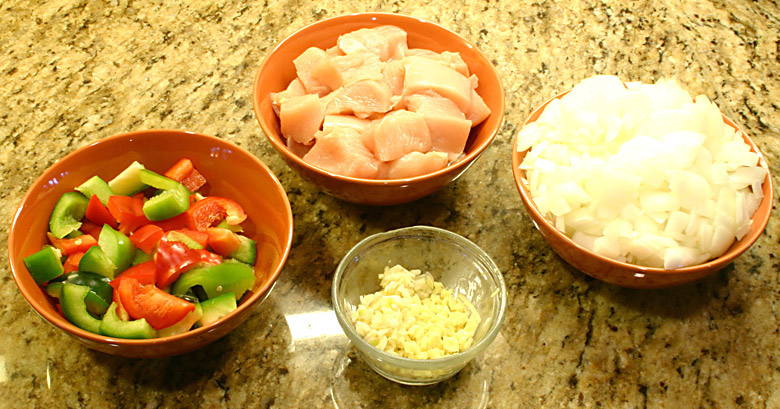 Chicken Curry Ingredients