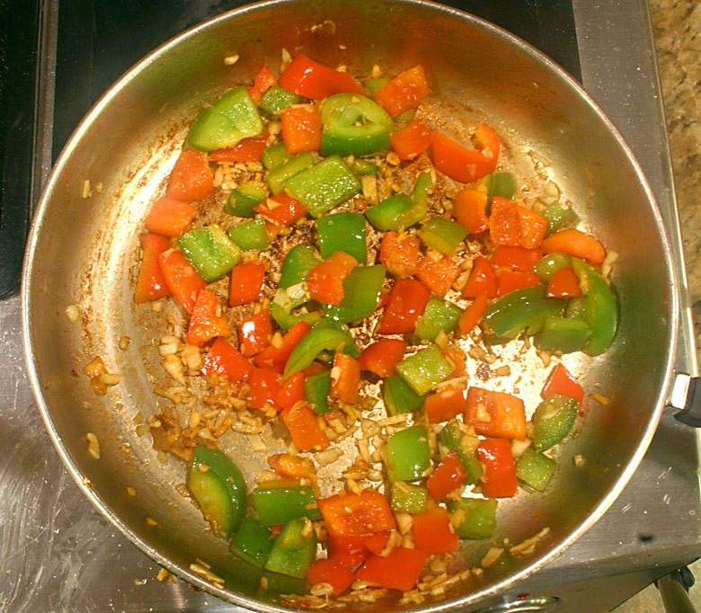 Cooking Curry Vegetables